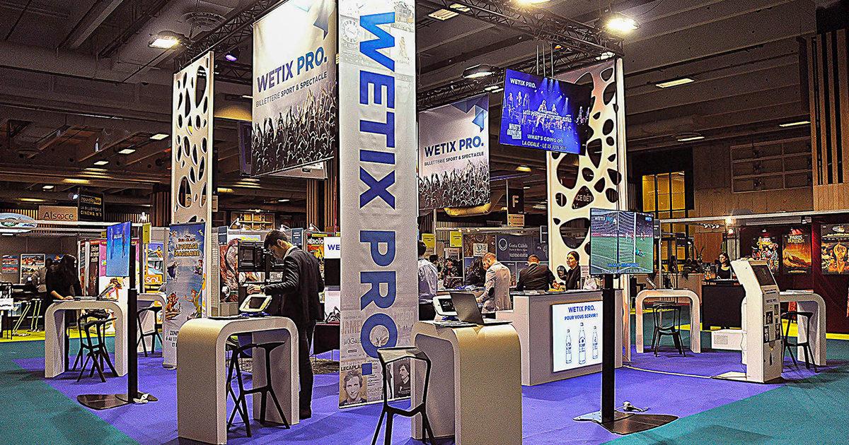 Stand Wetix Pro salon des CE Paris