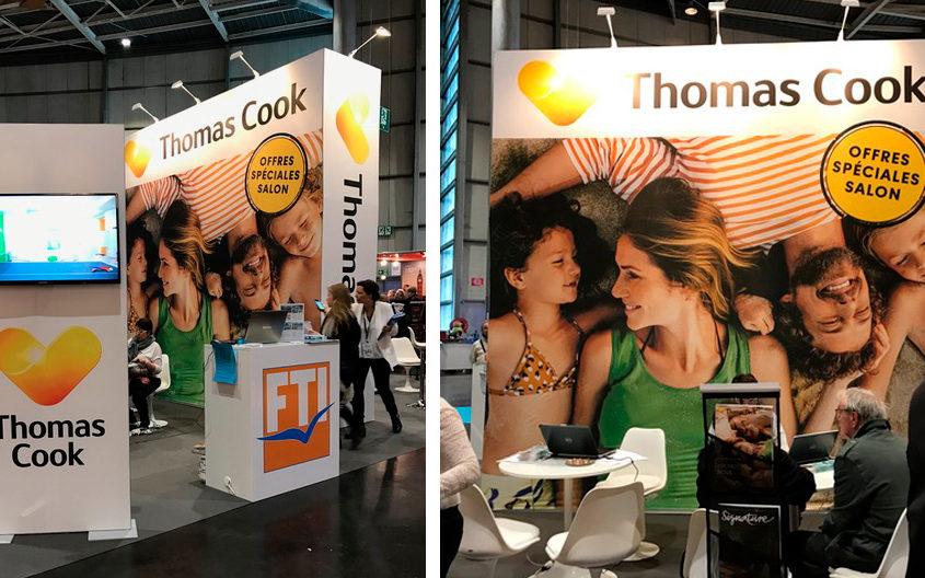 Stand Thomas Cook - Salon Mahana de Lille