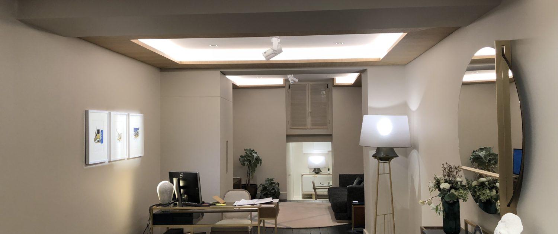 Agencement Magasin Roche Bobois Collection Bruno Moinard - Mobilier design contemporain.