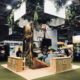 Conception et installation stand Nature pour Costa Rica. Destination Nature