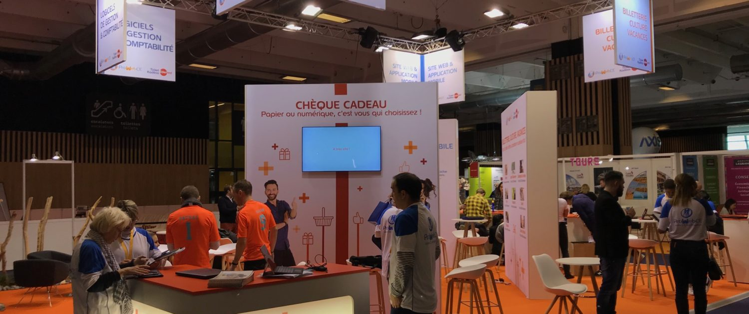 Stand ProwebCE menuiserie