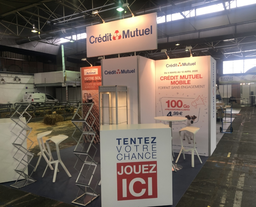 Stand Crédit Mutuel